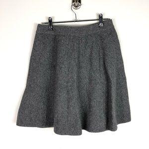 Tahari Wool Blend Flare Skater Skirt Sweater M